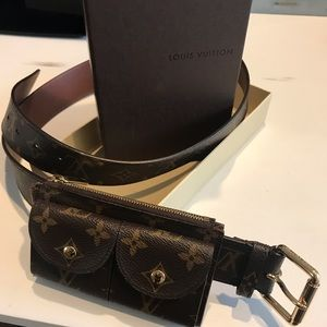 Women s Louis Vuitton Monogram Belt on Poshmark e92fb42364d